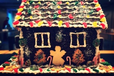 Ginger cookies house